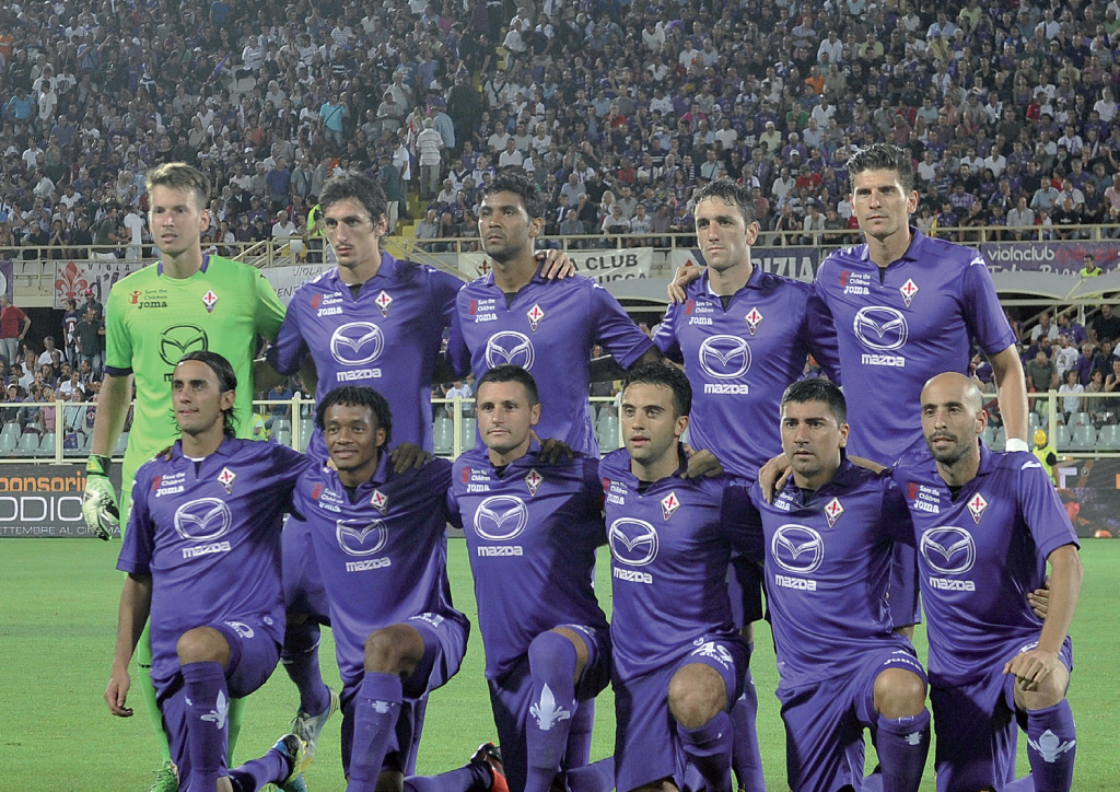 Fiorentina Soccer Team (Courtesy of Carlo Bressan photographer)