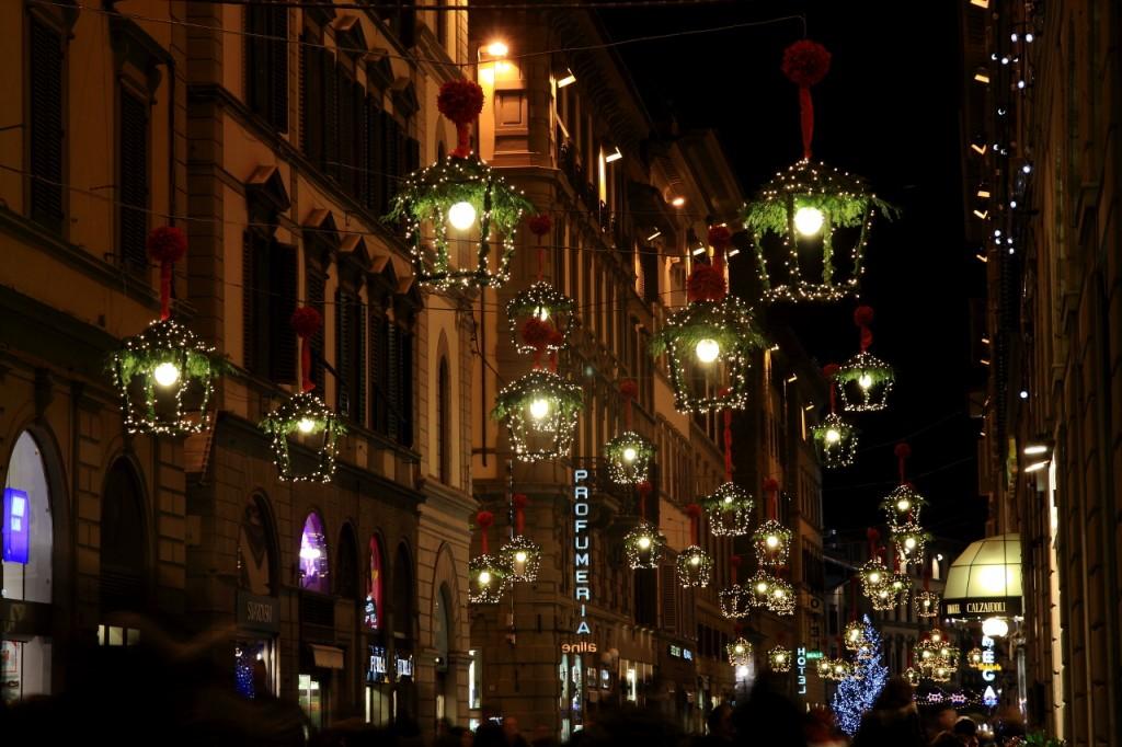 Via de' Calzaiuoli, Florence (Courtesy of Andrea Ristori, photographer)