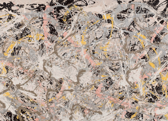 Jackson Pollock, Number 27, 1950. Oil, enameland aluminum painting on canvas
