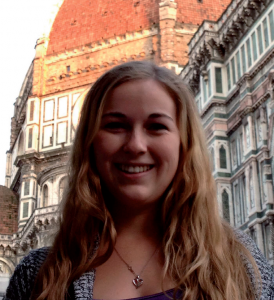 Kellie Malone, Student at the Gonzaga in Florence University
