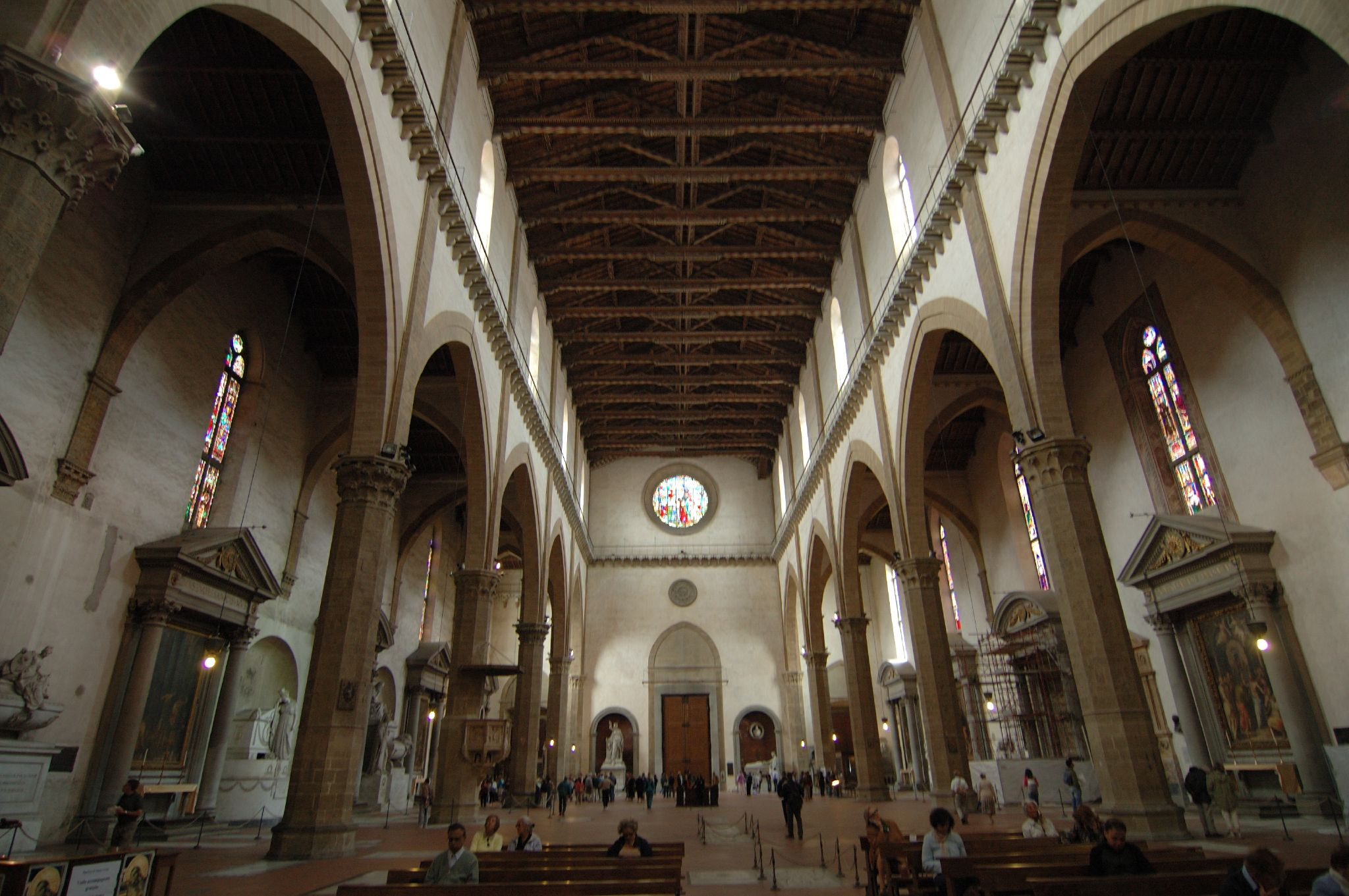 Santa Croce in Florence, interior