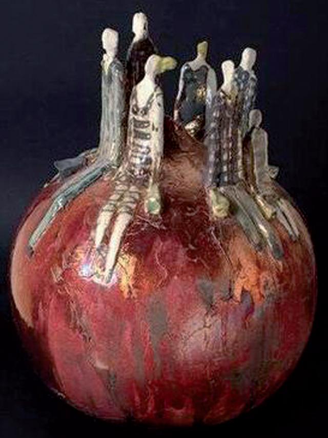Vaso con figure, 2010, private collection