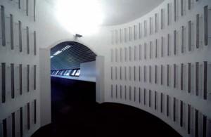 Franco Ionda, Zona Franca, 1992, Installazione permanente, Centro per l'arte contemporanea Luigi Pecci, Prato