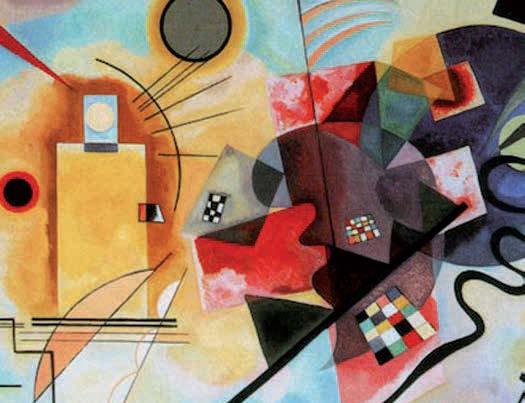 Vassily Kandinsky - Giallo, rosso e blu