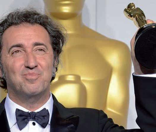 Paolo Sorrentino at Academy Awards