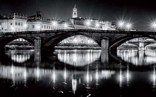 ponte vecchio lights