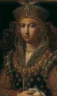 Jacopo Ligozzi, Ritratto di Virginia de Medici