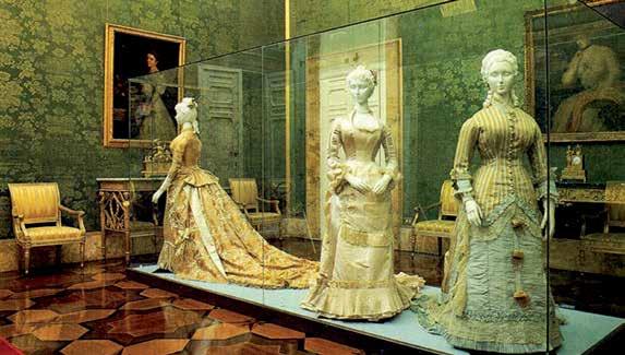 Costume Gallery in Palazzo Pitti