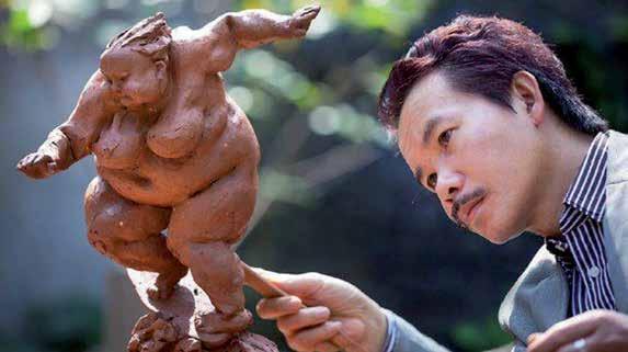 Xu Hong Fei, Sculptor