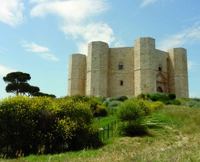The medieval castel of Federico II, Andria (Bari)