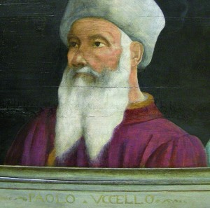 Portrait of Paolo Uccello by anonymous, Louvre Museum, Paris