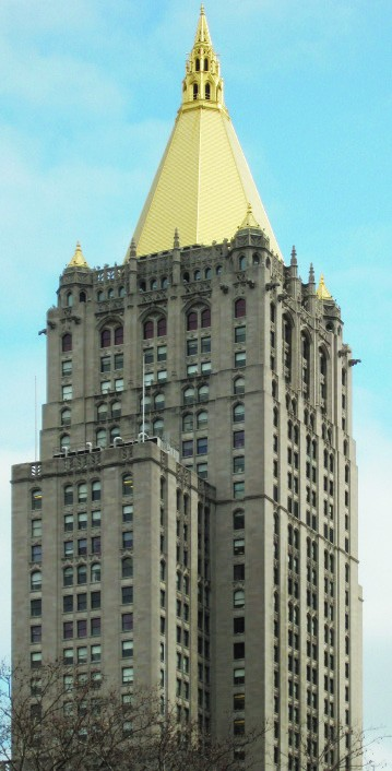 Giusto Manetti Battiloro for the New York Life Insurance Building, located at 51 Madison Avenue, Manhattan, New York City