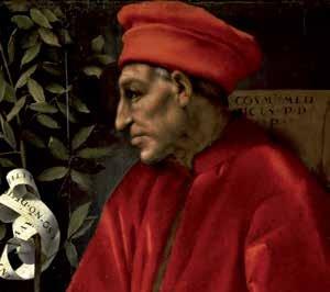 Cosimo Il Vecchio Portrait by Jacopo Carucci detto il Pontormo. 1519 - 1520
