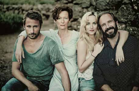 A Bigger Splash, Matthias Schoenaerts, Tilda Swinton, Dakota Johnson, Ralph Fiennes
