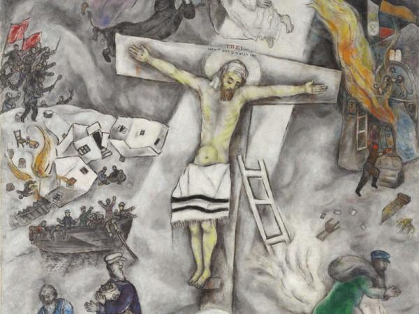 Crocifissione bianca di March Chagall