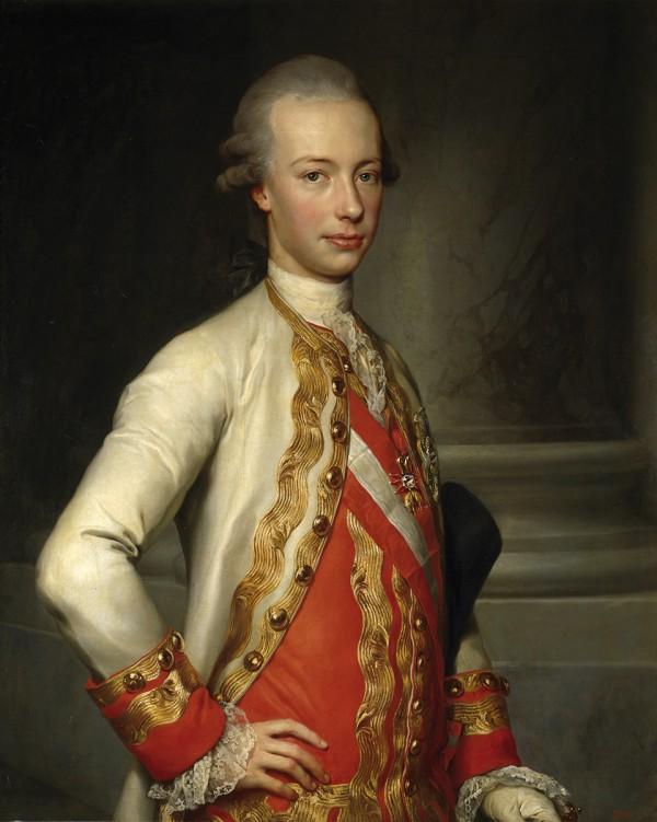 Pietro Leopoldo d'Asburgo Lorena, Granduca di Toscana,  by Anton Raphael Mengs, 1770, Madrid, Museo del Prado