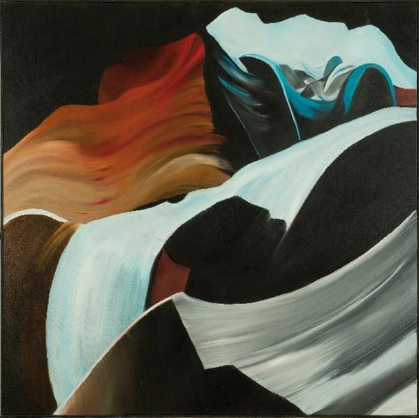 "Canyon 22, Oil on Canvas, 90x90 cm ©2011 Armida ""Pupa"" Nardi"