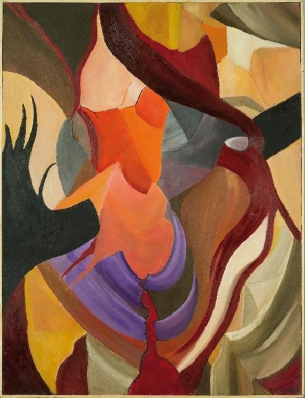 "Canyon 48, Oil on Canvas, 80x60 cm ©2011 Armida ""Pupa"" Nardi"