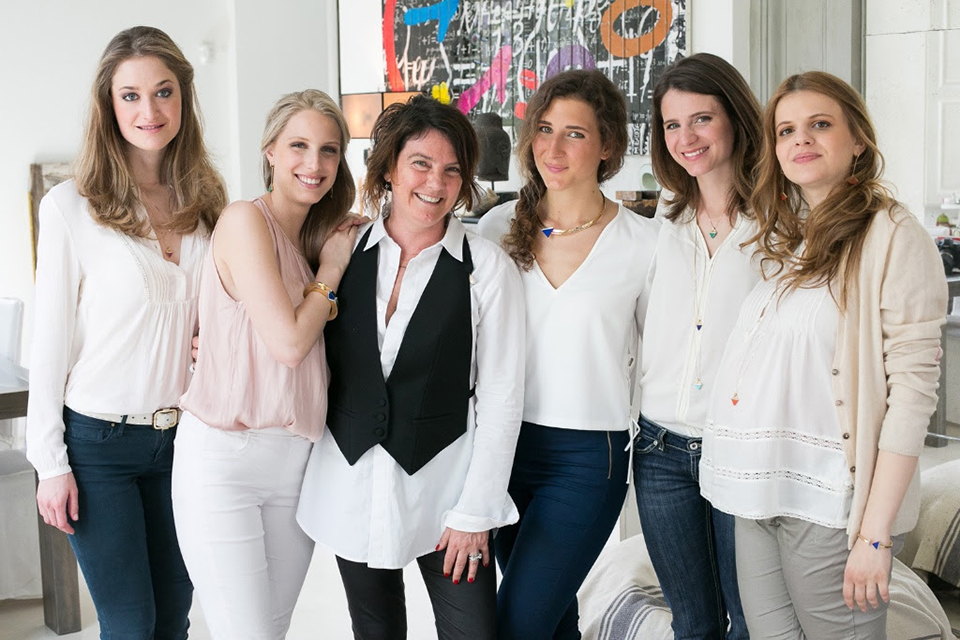 Testimonial del progetto Lulù per FILE   Leonia Frescobaldi, Lucrezia Galli, Lucrezia Gondi, Anna Miari Fulcis ed Eleonora Torrigiani con Elisa Tozzi Piccini