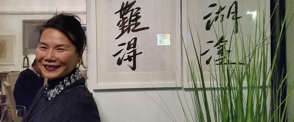"""Dice il saggio: """"Ogni tanto dobbiamo  essere un po'  sciocchini"""",  ci ha spiegato Shumei Weng"""