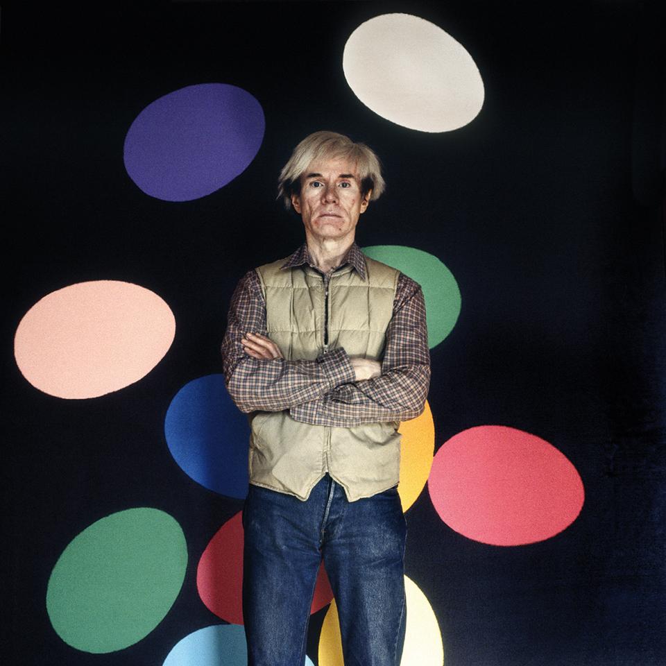 1.Andy Warhol