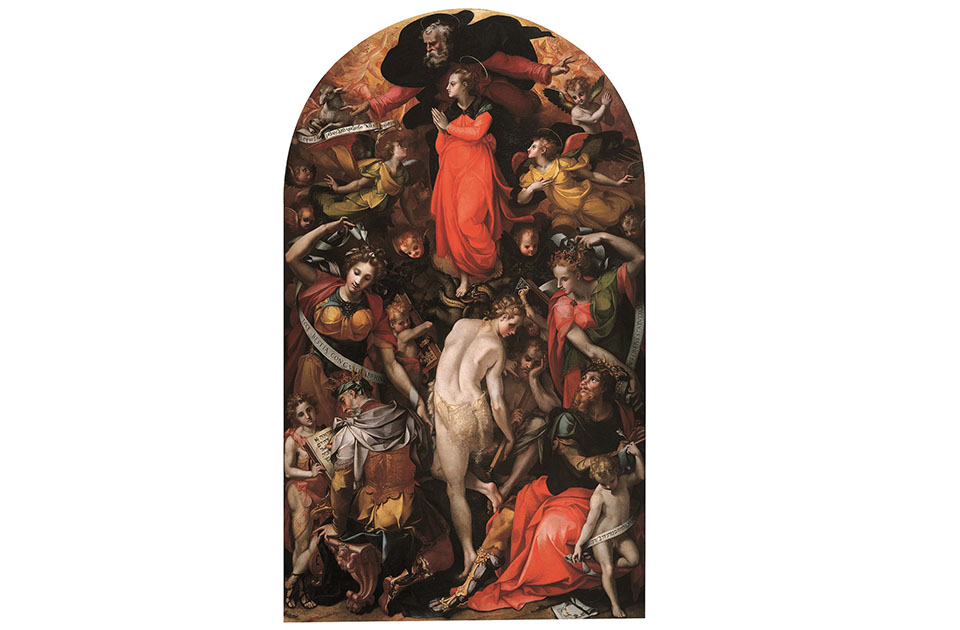 Allegoria dellImmacolata Concezione 1566