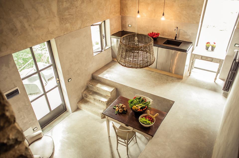 Un antico mulino nel Valdarno  trasformato in casa vacanze
