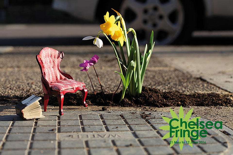 Chelsea Fringe: The Pothole Gardener