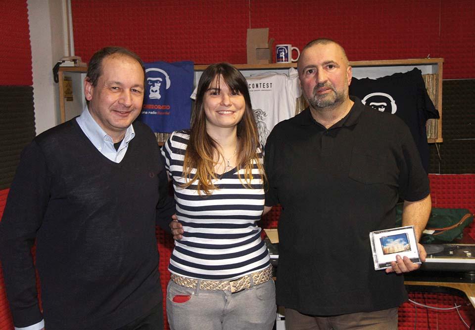 MICHELE MANZOTTI, GIULIA NUTI  E  FABRIZIO BERTI ,.-Foto Umberto Visintini/NEWPRESSPHOTO: