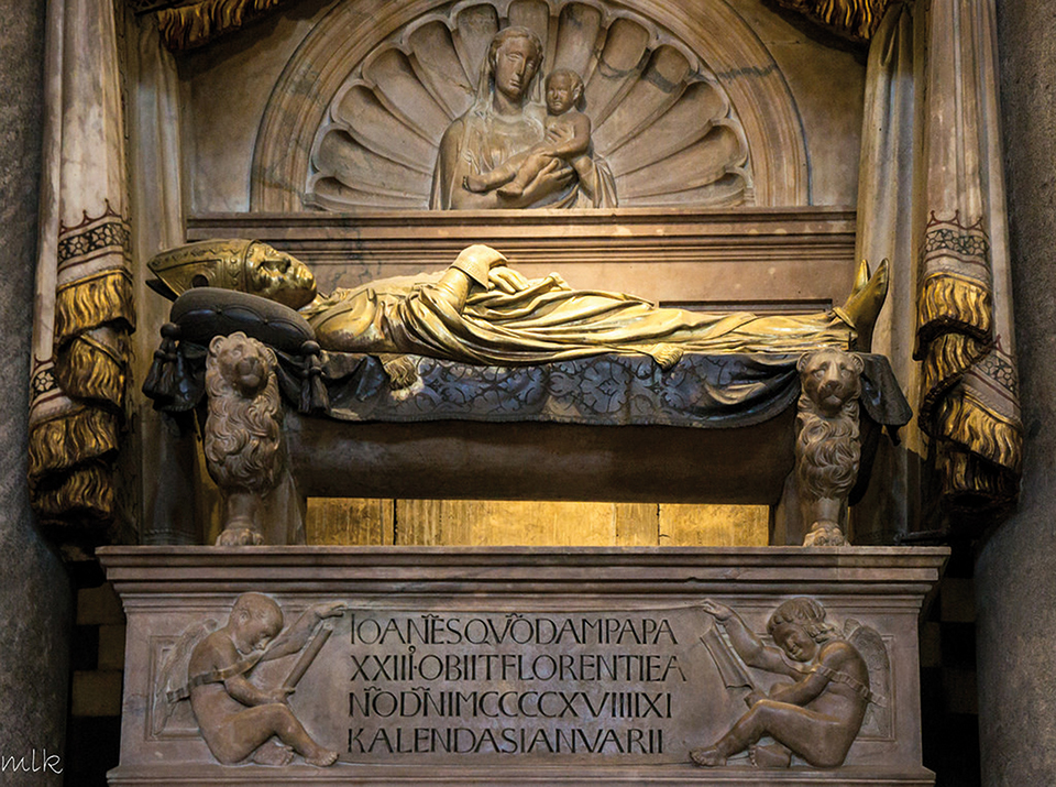Tomb of the antipope  John XXIII