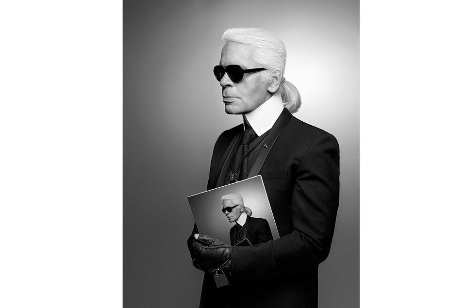 Karl Lagerfeld Self-portrait